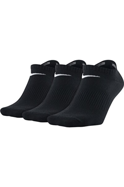 Unisex Siyah Perf Lıghtweıght Çorap 3'lü