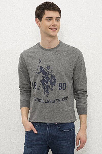 Grı Erkek Sweatshirt G081Sz082.000.1219300