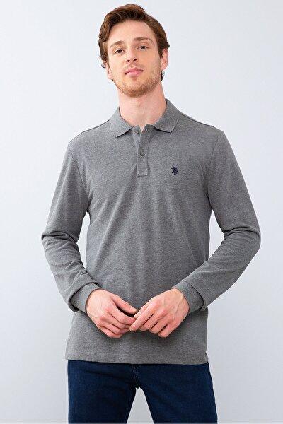 Grı Erkek Sweatshirt