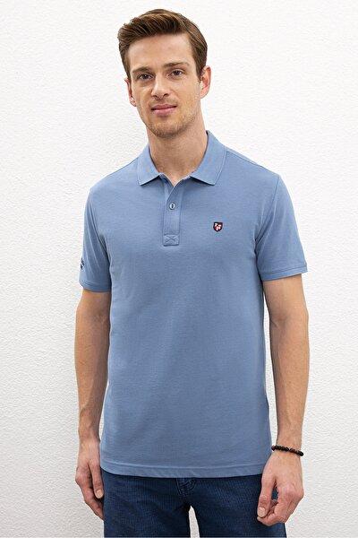 Mavı Erkek T-Shirt