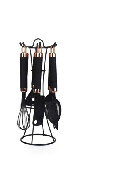 Plus- Titanyum Malzeme Paslanmaz Çelik 6 Parça Mutfak Aletleri