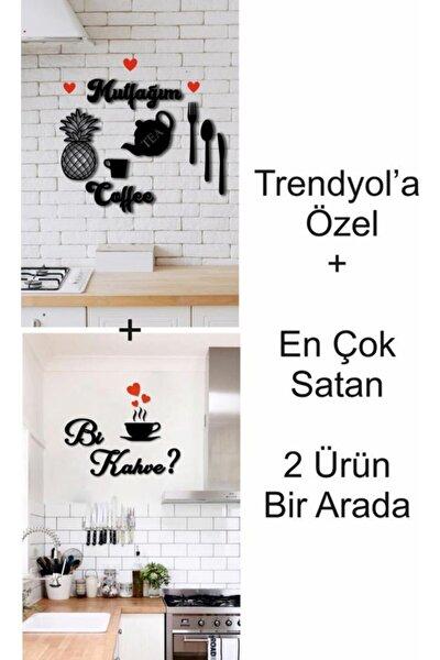 Mutfak Duvar Dekoru+bi Kahve 2'si Bir Arada