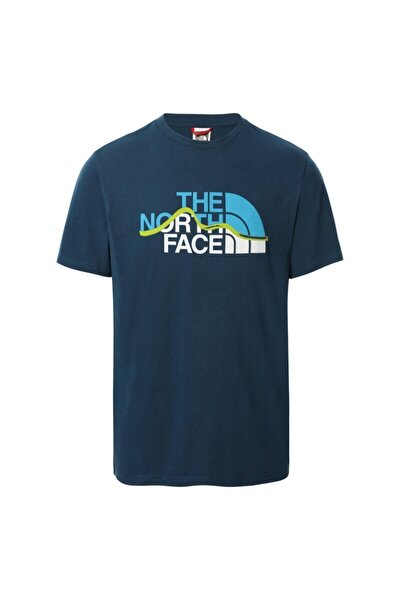 The Nort Face M S/s Mountaın Lıne Tee - Eu Nf00a3g2bh71