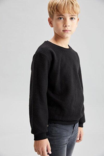 Erkek Çocuk Basic Selanik Kumaş Sweatshirt