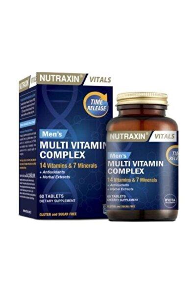 Kompleksi 60 Tablet Erkekler İçin Multivitamin Skt 08.2023