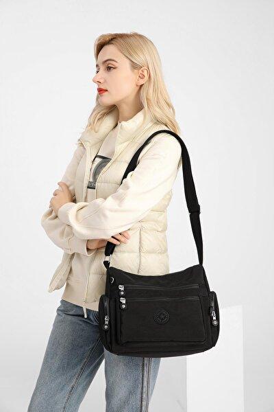 Smbyb1115-0001 Siyah Kadın Çapraz Çanta
