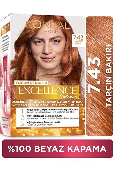 Excellence Creme Saç Boyası 7.43 Sultan Bakırı