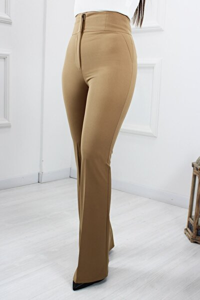 Pantolon Yüksek Bel Ispanyol
