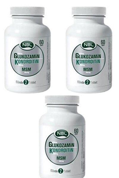 Nbl Glukozamin Kondroitin Msm 60 Tablet 3 Adet