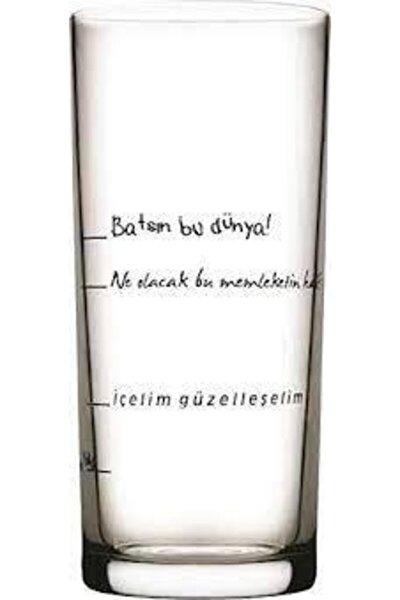 Içelim Güzelleşelim 6'lı Rakı Bardağı 200 Cc