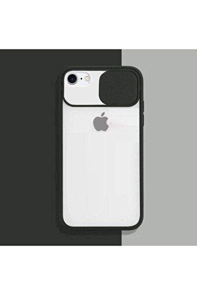 Iphone 6 6s Kılıf Sürgülü Kamera Korumalı Silikon Kapak