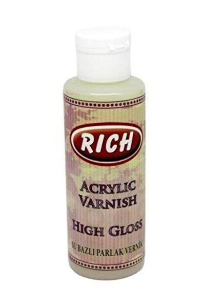 Su Bazlı Vernik PARLAK (High Gloss Acrylic Varnish) 130 cc.