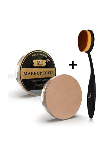 Make Up Cover Kapatıc Kaşık Fırça