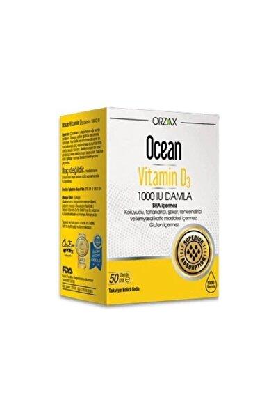 Ocean Vitamin D3 1000 Iu Oral Damla 50 ml