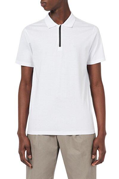 Erkek Fermuarlı Polo T Shirt  3k1fc1 1juvz 0100