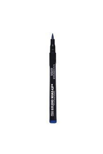 Mavi Likit Eyeliner - Liquid Eyeliner Pen 03 Blue 8680196110039