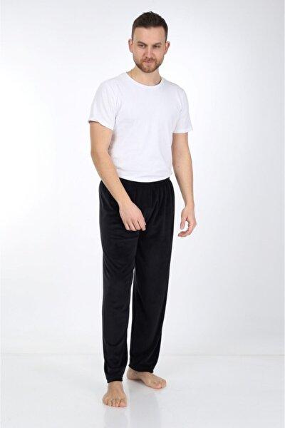 Unisex Siyah Süprem Penye Pijama Altı