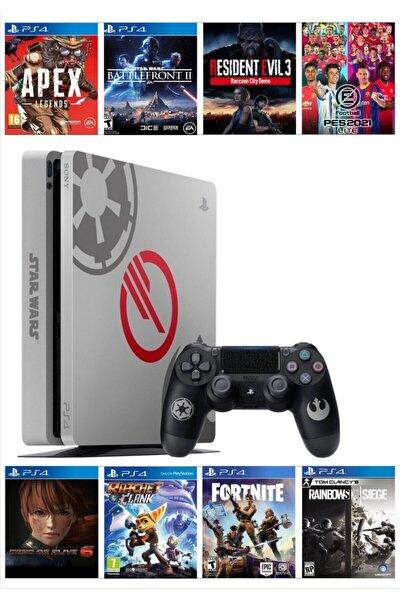 Playstation 4 Slim 1 Tb Star Wars Limited Edition Yenilenmiş + 2. Ps4 Kol + 8 Oyun Hediyeli