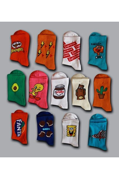 Kolej Çorap 10 Çift