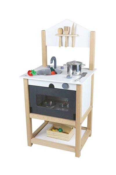 Ahşap Eğitici Oyuncak Mutfak Montessori Galya Mutfak