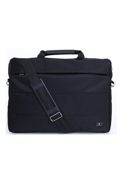 """Linien 15.6"""" Siyah Unisex Evrak Notebook Laptop Çantası"""