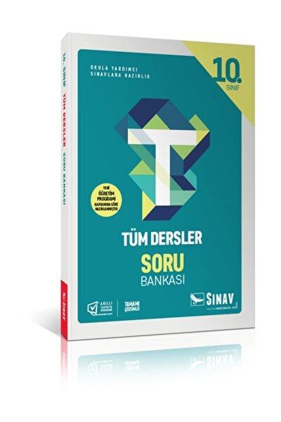 Sınav 10.sınıf Tüm Dersler Soru Bankası