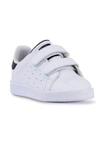 19422 Çocuk Spor Ayakkabı - Beyaz - Lacivert - 33