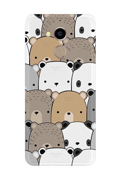 General Mobile Gm8 Kılıf Silikon Desenli Resimli Lüx Kapak Panda Pattern -stok 962