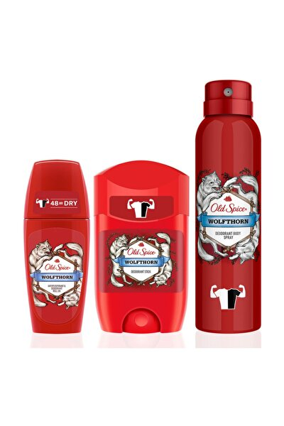 150 ml Deo+50ml Deo Stick+50 ml Roll On Wolfthorn