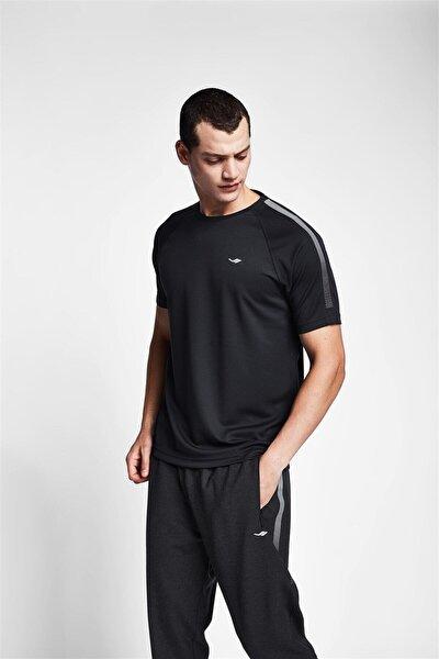 Erkek Siyah T-shirt 20b-1139