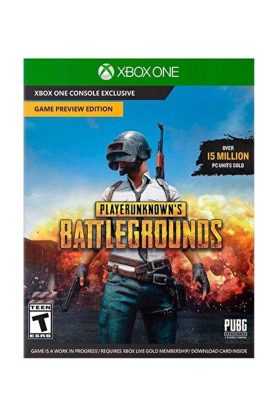 Playerunknowns Battleground Xbox One Oyun