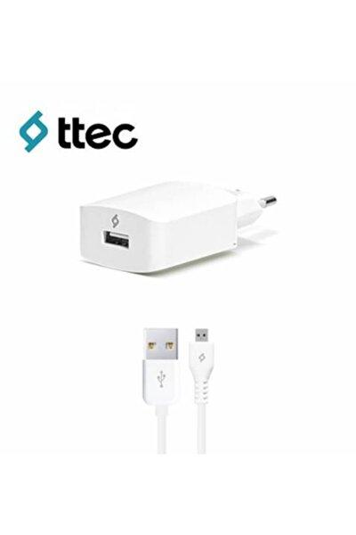Speedcharger Serisi Micro Usb Kablolu 2.1a Seyahat Şarj Cihazı Beyaz