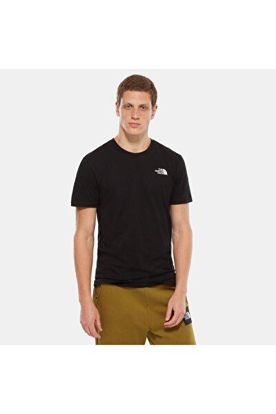 Erkek Siyah Sımple Dome T-Shirt