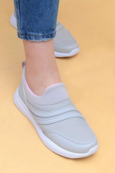 Kadın Buz Pembe Yürüyüş Spor Ayakkabı 785