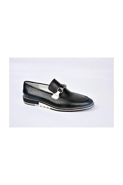 M-83774 Klasik Siyah Erkek Deri Ayakkabı