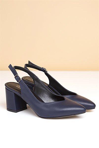 PC-50173 Lacivert Kadın Ayakkabı