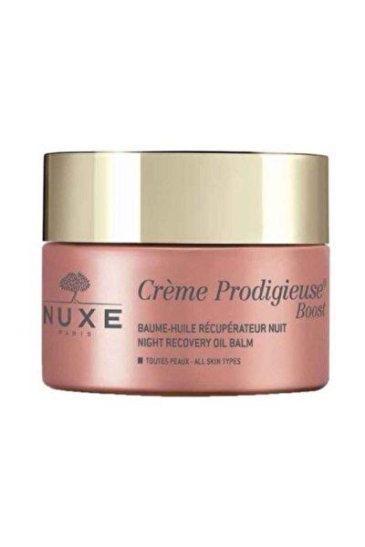 Tüm Cilt Tipleri Için Gece Balsamı - Creme Prodigieuse Boost Night Recovery 50 ml 3264680015854