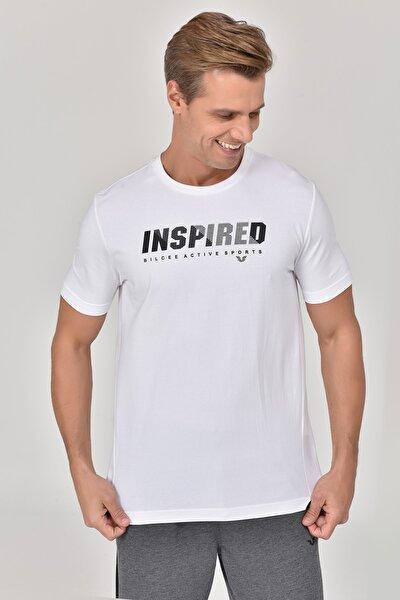 Beyaz Erkek T-shirt  GS-8809