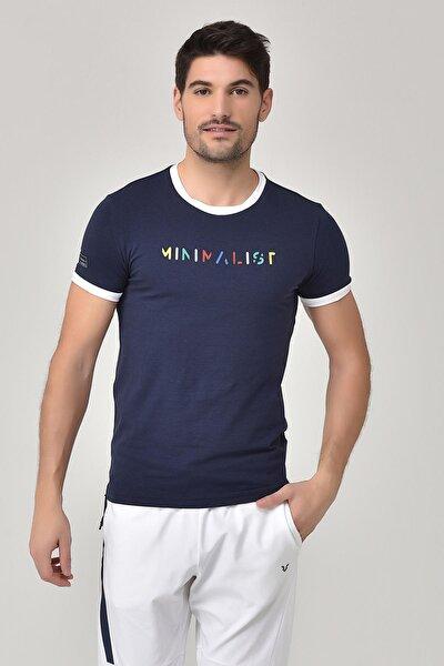 Lacivert Erkek T-shirt  GS-8250