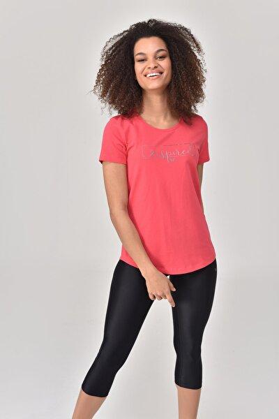 Pembe Kadın T-Shirt GS-8615