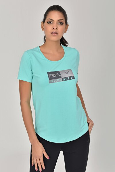 Turkuaz Kadın T-shirt  GS-8614
