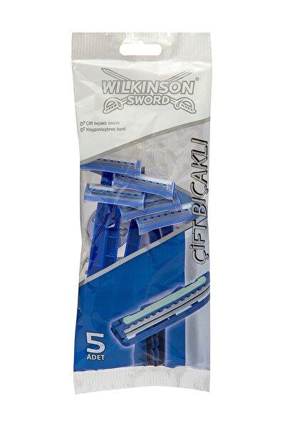 Wilkinson Çift Bıçaklı Tıraş Bıçağı 5'Li Poşet
