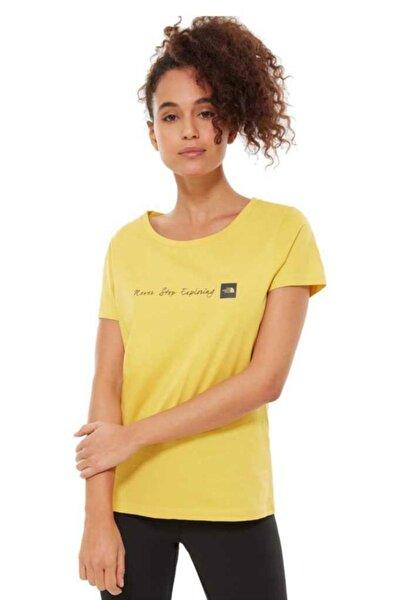 The North Face Never Stop Exploring Kadın T-Shirt Sarı