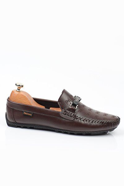 Kahverengi D4040 Günlük Ortopedik Erkek Rok Ayakkabı  DXTRSROK4040