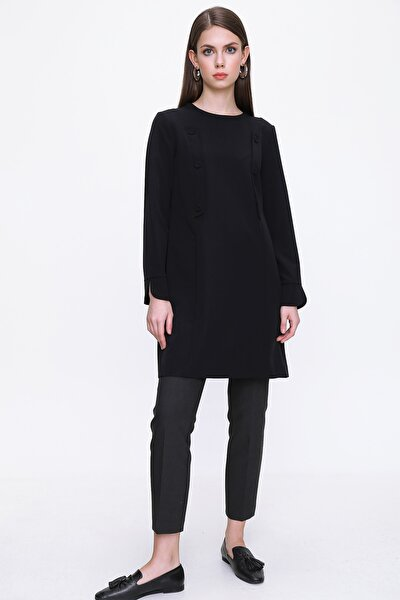 Kadın Siyah Tunik