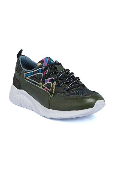 Haki Tekstil Erkek Ayakkabı-54254N5P