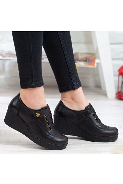 Kadın Hakiki Deri Ortopedik Ayakkabı