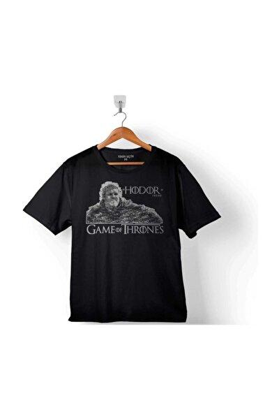 Game Of Thrones Hodor Logo Çocuk Tişört