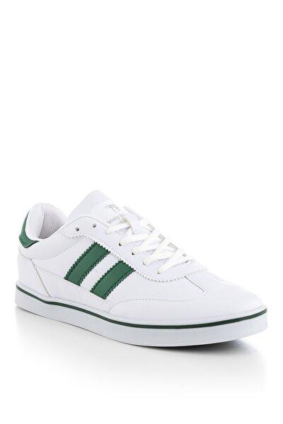 Unisex Beyaz Yeşil  Sneaker TBADG-0