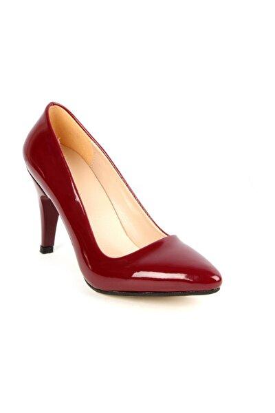 L3 Bordo Stiletto Ayakkabı